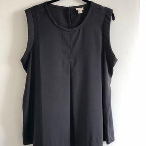 Jcrew women's black top, size 14
